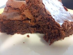brownie de remolacha sin gluten