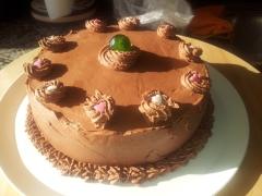 tarta chocolate y mayonesa celicatessen coruña