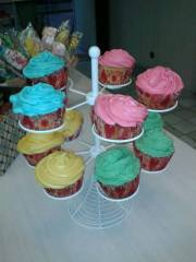 cupcakes colores